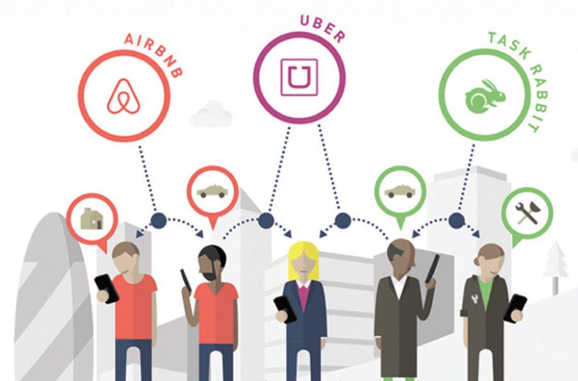 Sharing economy diagram